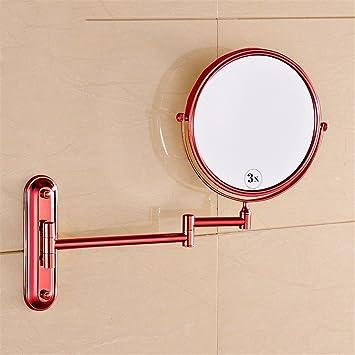 Golden Alle Kupfer Antiken Badezimmerspiegel Badezimmer Spiegel Badezimmer  Klappspiegel Vergrößerungs Doppelseitige Kosmetikspiegel Teleskopspiegel,  ...