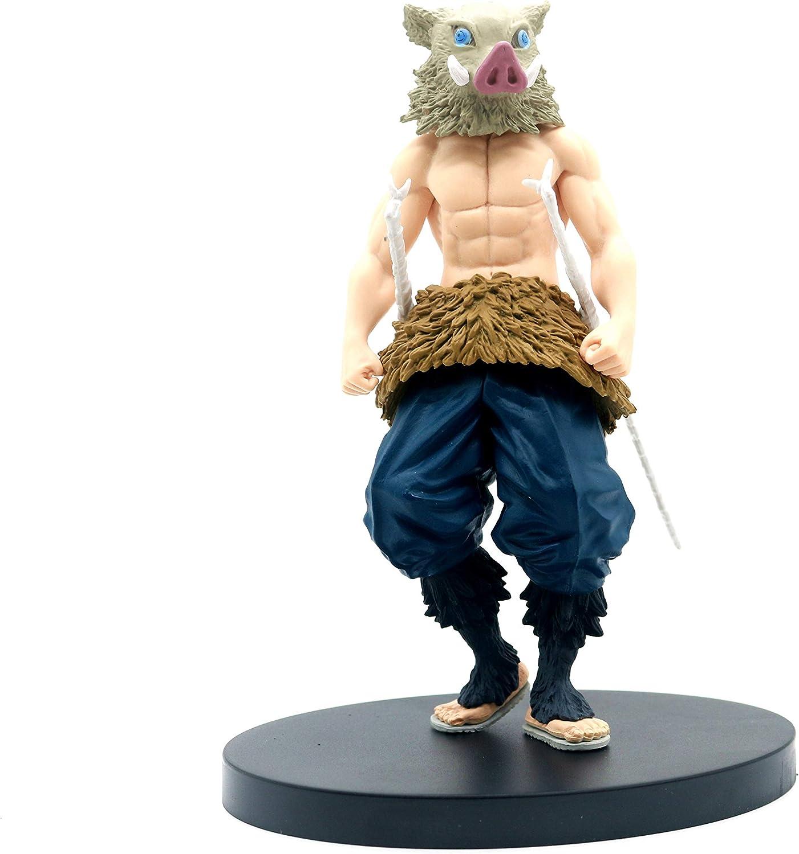 5pcs//set Demon Slayer Kimetsu no Yaiba Agatsuma Zenitsu Mini Figure NEW NO BOX