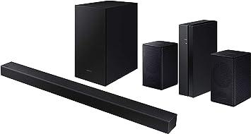 Samsung Hw T450 Dolby Audio Y Dts Barra De Sonido Y Subwoofer De 2 Canales Con Un Samsung Swa 8500s Kit Inalámbrico Para Altavoz Trasero 2020 Electronics