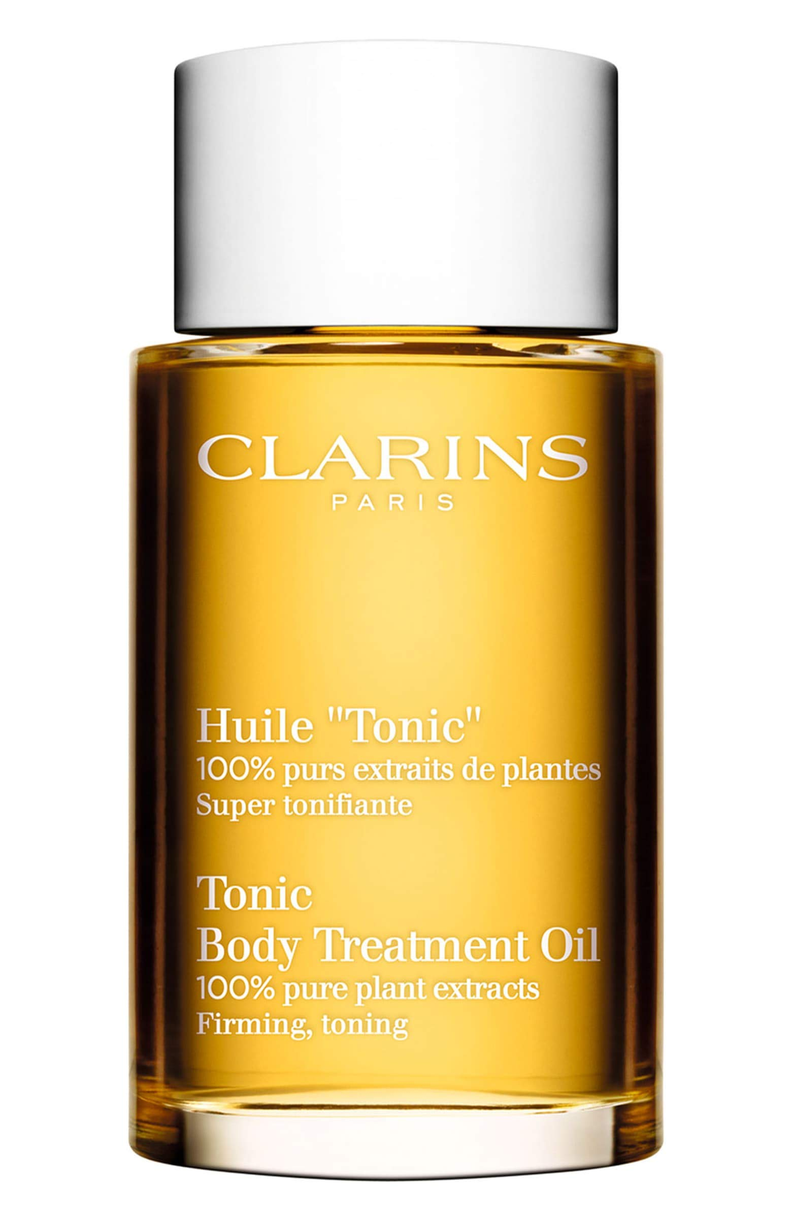Clarins Body Treatment Oil Tonic, 3.4 Fl Oz