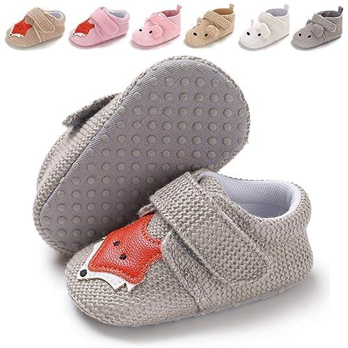 7aa823dc300dd Amazon.com | BENHERO Infant Baby Boys Girls Cartoon Shoes Soft Sole ...