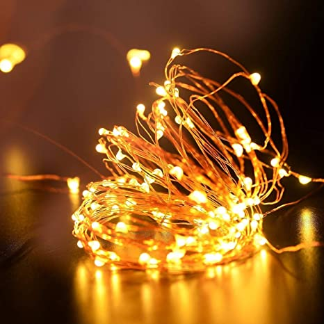 Portable Christmas Lights.Buy Decorfest Copper String Lights 3 Aa Battery Operated