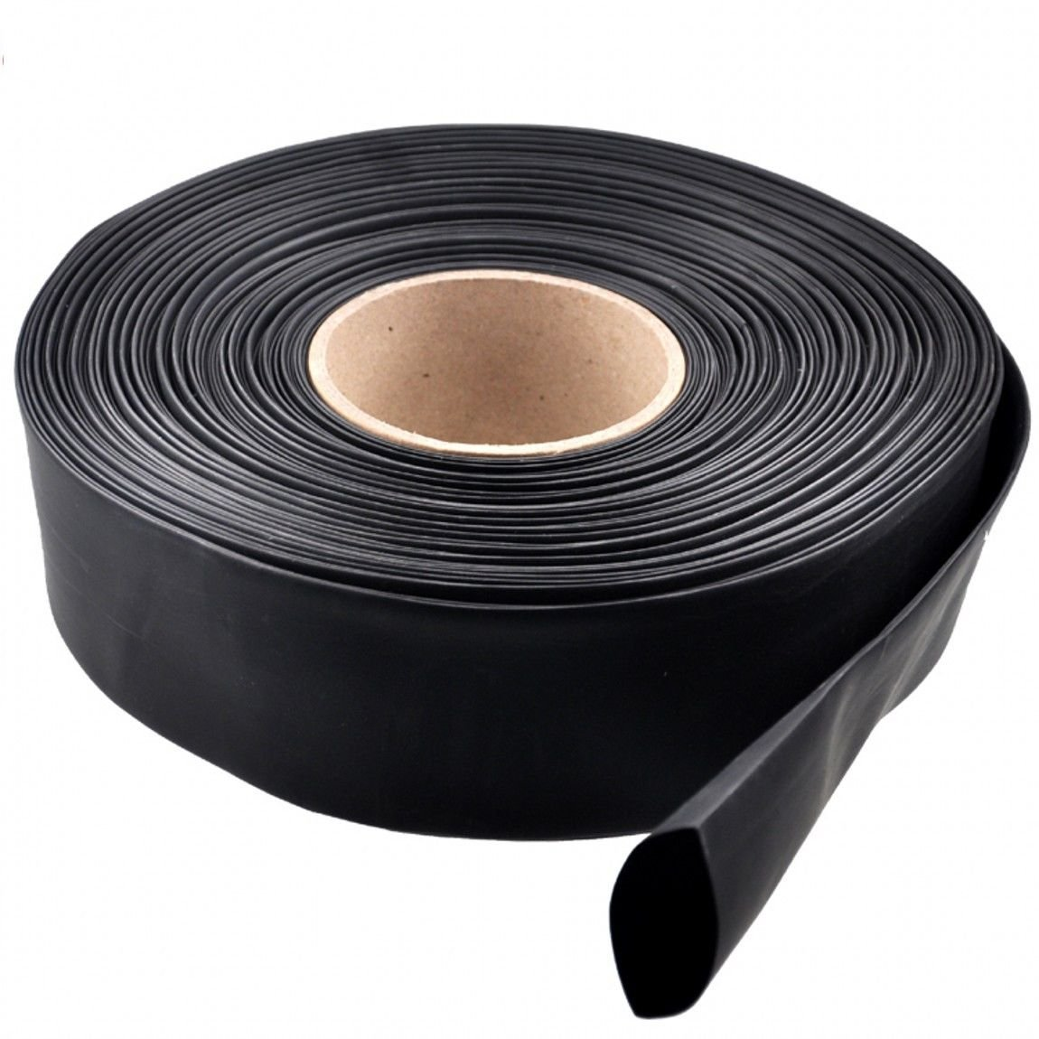 FEVERWORK 5m Black 2:1 Heat Shrink Tubing Tube Sleeve Wrap Wire Cable 15//20//25//30//35//40mm 20mm
