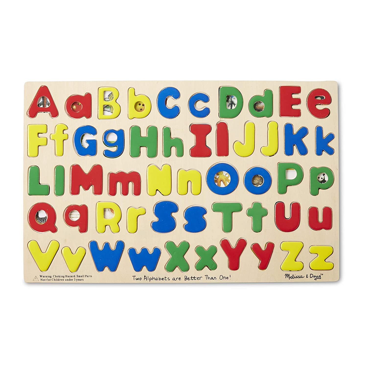 Amazon.com: Melissa & Doug Upper & Lower Case Alphabet Letters