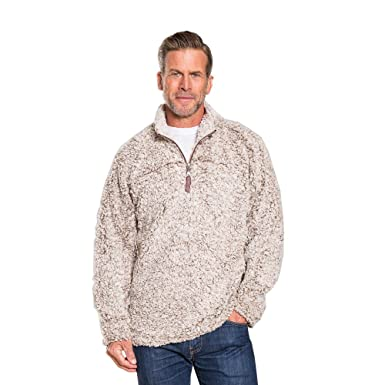 358e3091f659 Amazon.com  True Grit Men s Frosty Tipped Zip Pullover  Clothing