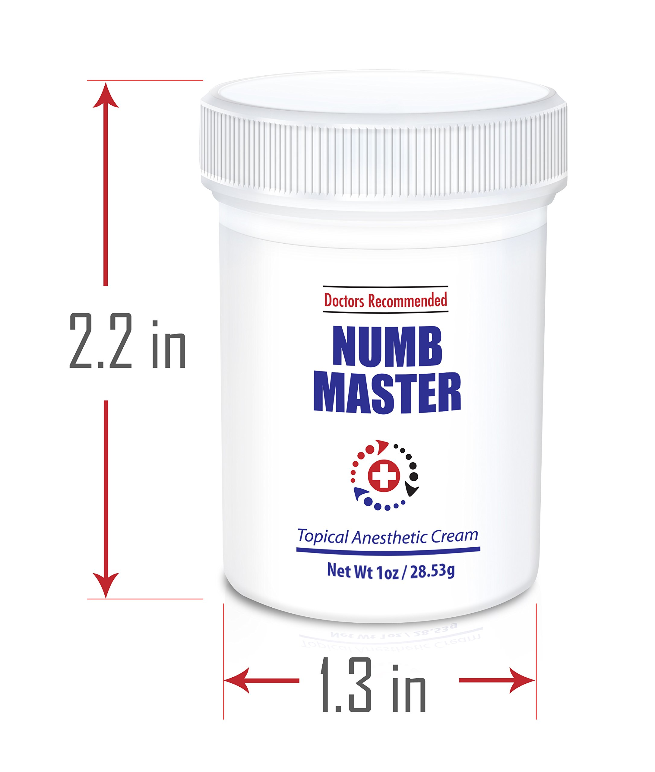 Clinical Resolution Non-oily Numb Master Topical Anesthetic Cream, 9 oz. (9 Jars x 1 oz.) by Clinical Resolution Laboratory