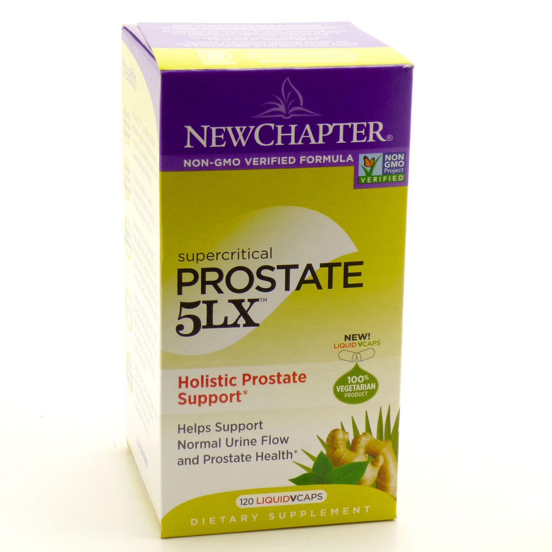 New Chapter. Supercritical Prostate 5lx. 120 Liquid Vcaps. (3 Bottles)