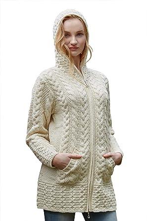 100% Merino Wool Sweaters Fashion 2019 Oversized Knitted Winter Women Coat Cardigans Sweaters