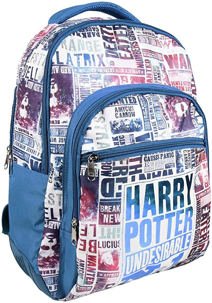 22 cm Azul Blau Artesania Cerda Estuche//portatodo Plano 3 Compartimentos Harry Potter Zusatztasche