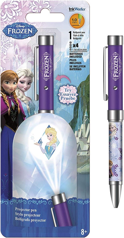 Disney Lápiz Proyector congelados – Elsa Violeta Linterna 1,0 mm ...