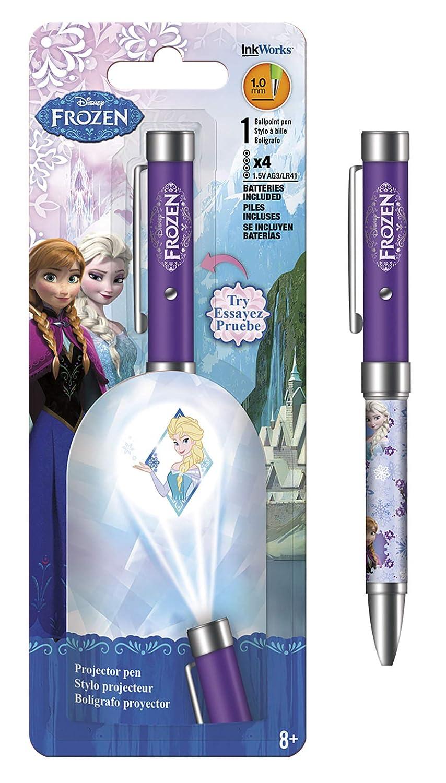 Disney Lápiz Proyector congelados - Elsa Violeta Linterna 1,0 mm ...