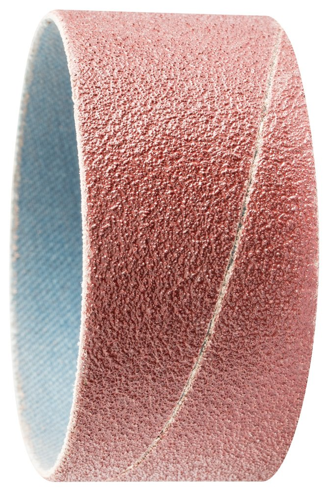 PFERD 41298 Cylindrical Type Abrasive Spiral Band, Aluminum Oxide A, 2-3/8'' Diameter x 1-1/8'' Length, 80 Grit (Pack of 100)