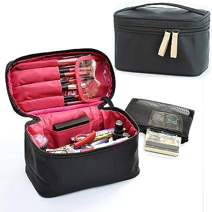 Maquillaje cepillo bolsa, HOYOFO bolsas de viaje para ...