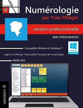 Numérologie par Yves Pflieger - Professionnel  Amazon.fr  Logiciels 309d9efab30d