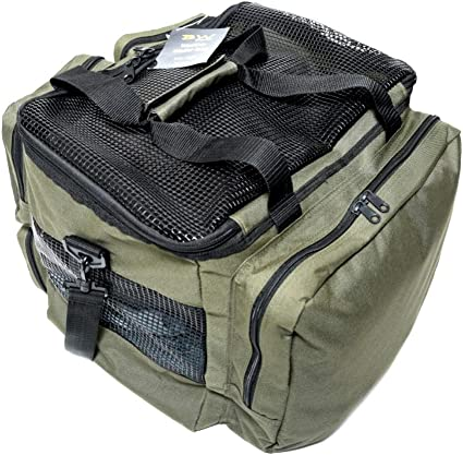 Amazon Com Bw Sports Waders And Wading Boots Storage Carry Bag Fishing Tackle Storage Bags Sports Outdoors