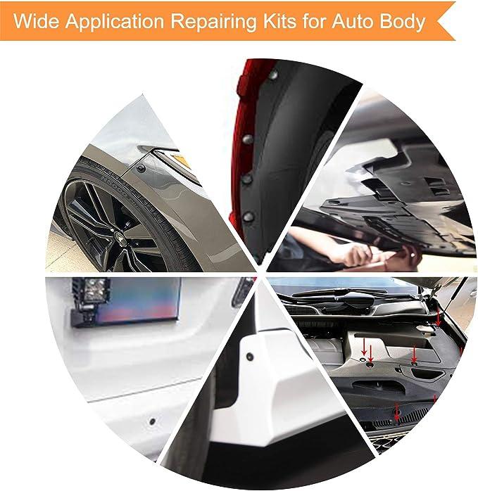 Universal 650X 22 Kinds Car Door Bumper Fender Repair Parts Fasteners Trim Clips