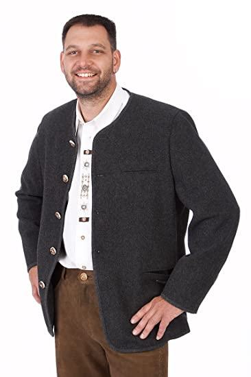 orbis Textil Trachten Herren Janker 230Rundhals