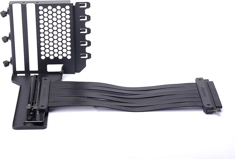 Universal Vertical GPU Bracket with 220mm Flat Line Pci-E X16 Riser Cable Kit Phanteks PH-VGPUKT/_02