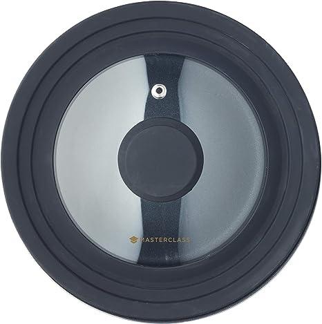 MasterClass MCSPSLID Smart Space - Tapa universal de silicona para cacerolas de 16, 18 y 20 cm: Amazon.es: Hogar