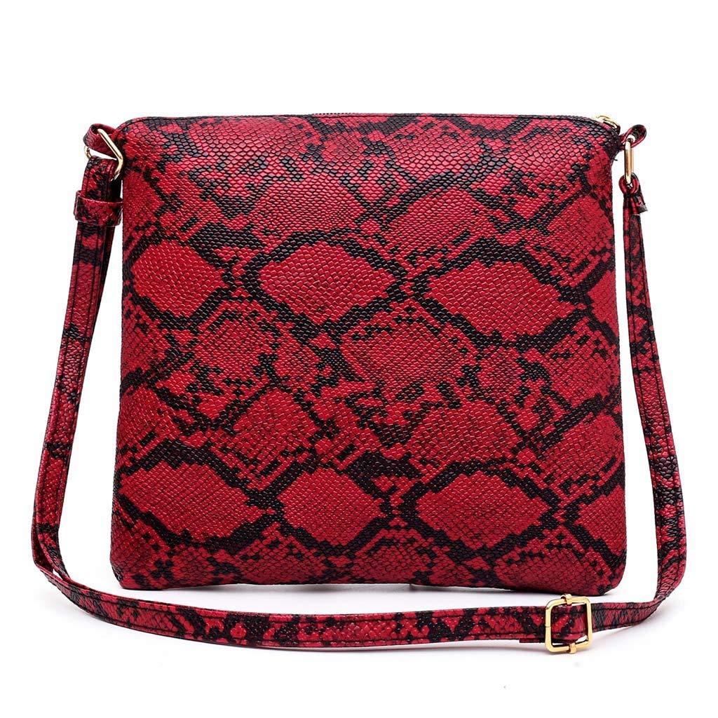 Amazon.com: Faionny - Bolso bandolera para mujer, M: Clothing
