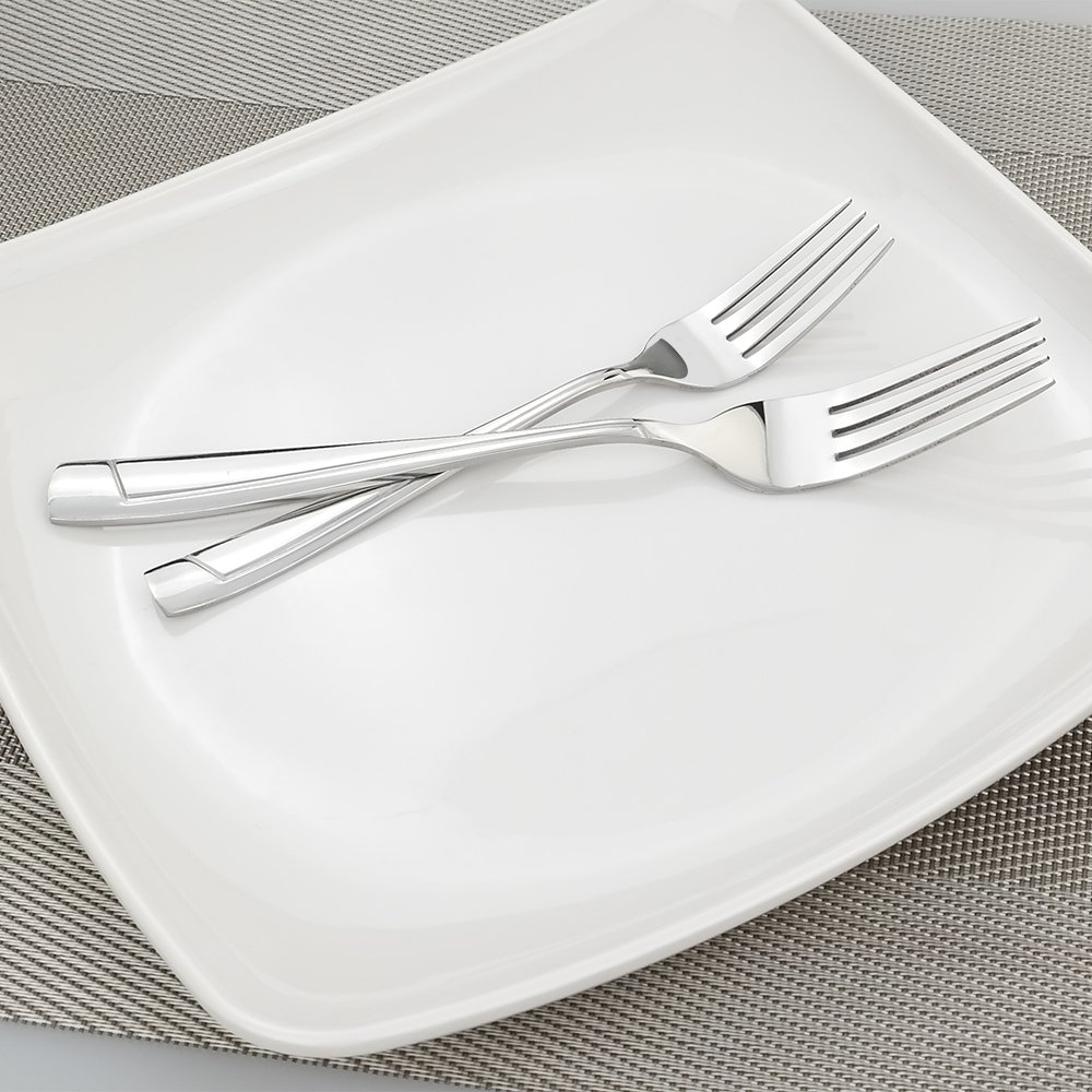 Stainless Steel Silverware Set Cand 40 Pieces Cutlery Service for 8