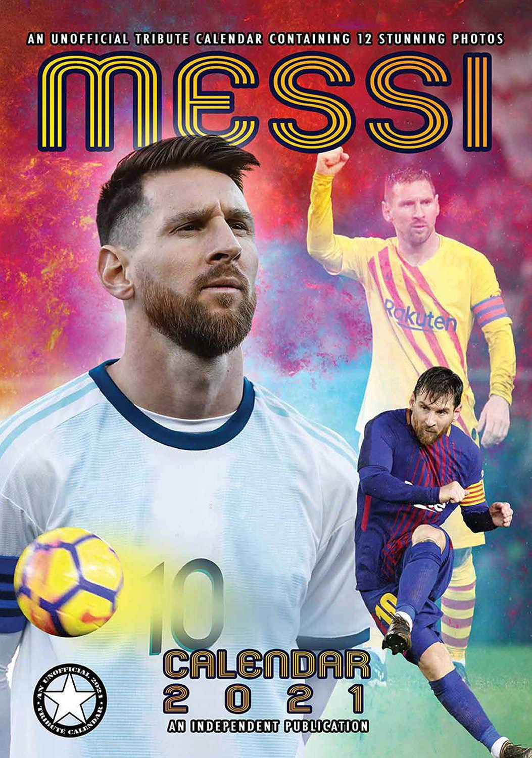 Amazon.com: Lionel Messi Calendar   Calendars 2020   2021 Wall