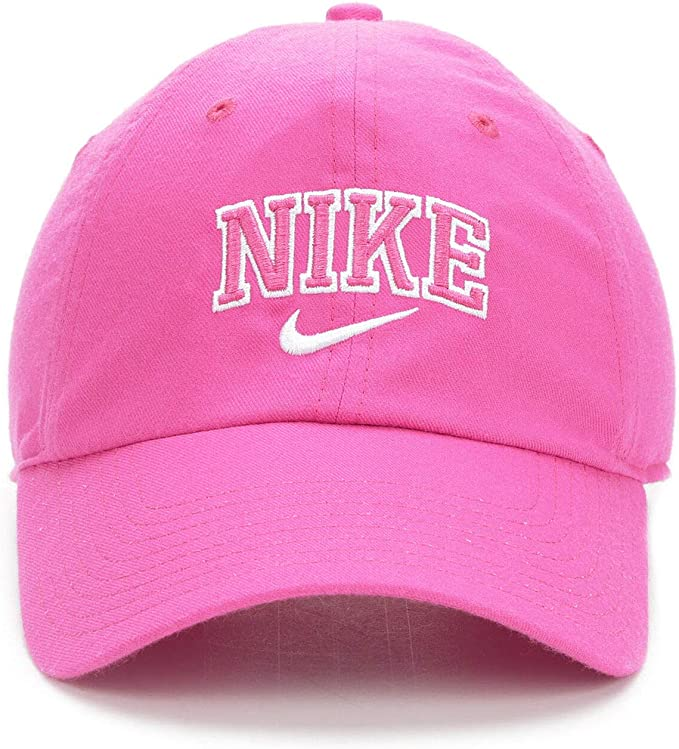 Nike W NSW H86 Cap Varsity Gorra, Mujer, Active Fuchsia/White ...