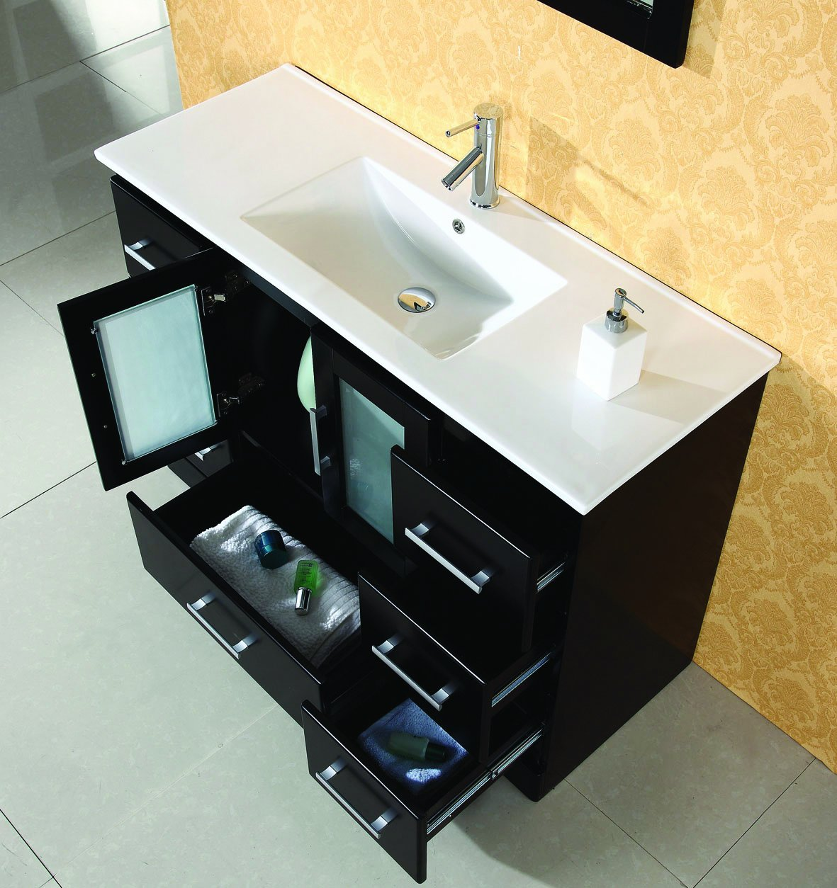 virtu usa ms c es zola 47 inch single sink bathroom vanity