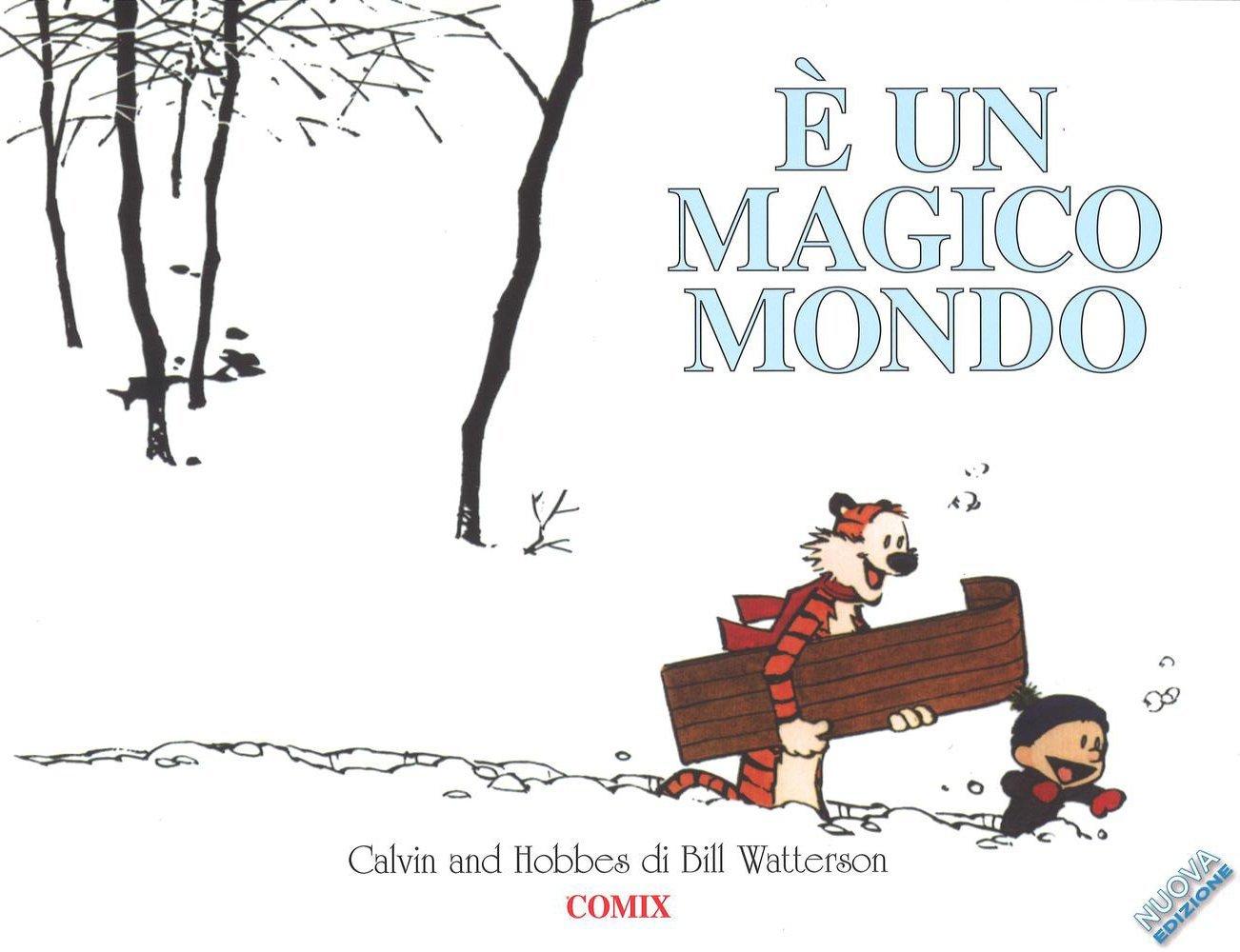 È un magico mondo. Calvin & Hobbes