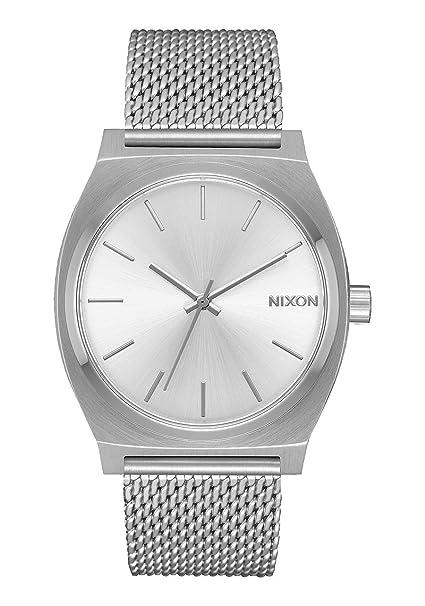 Nixon Reloj Analogico para Mujer de con Correa en Acero Inoxidable A1187-1920-00