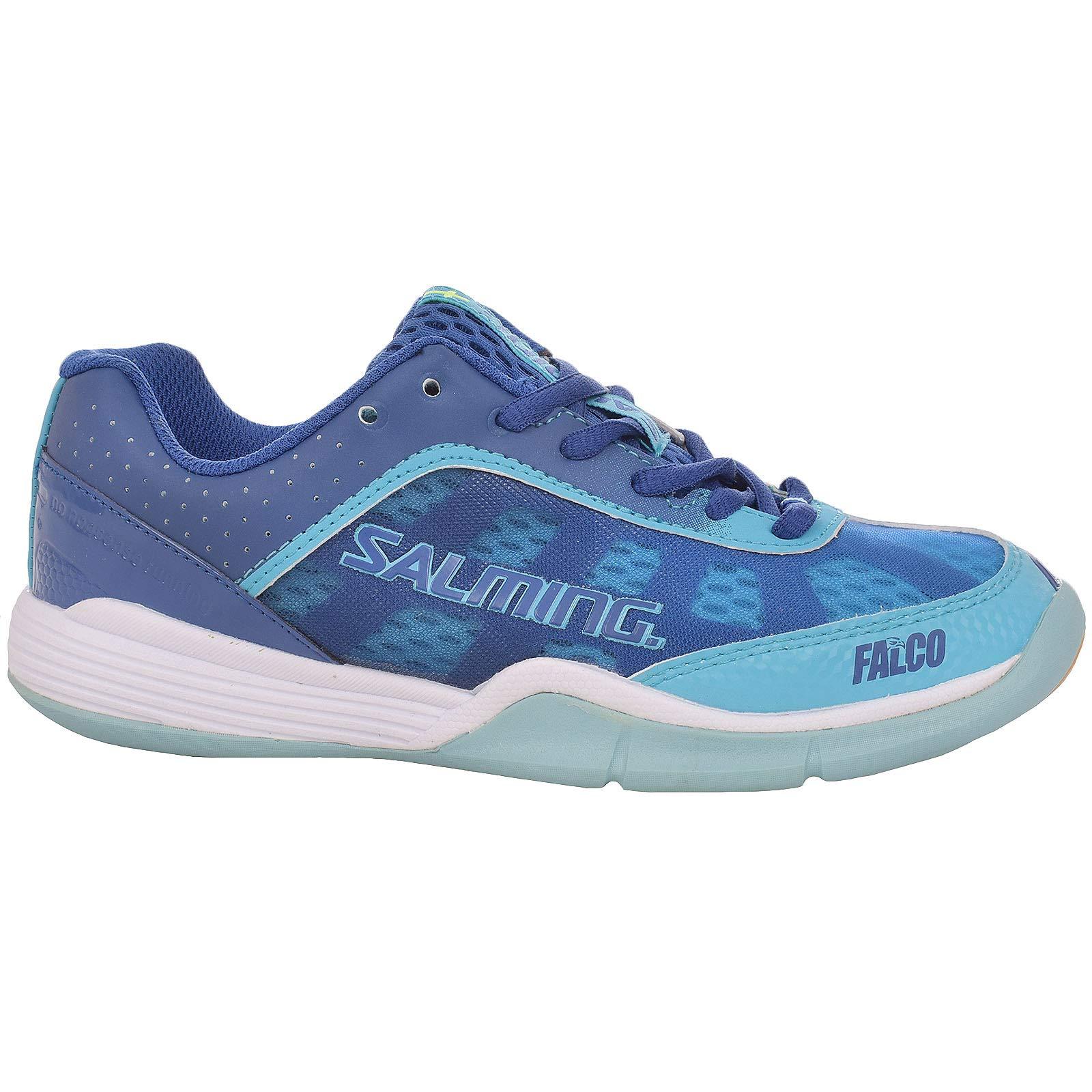 Salming Womens Falco Sports Trainers - Blue/Turqoise - 6 US