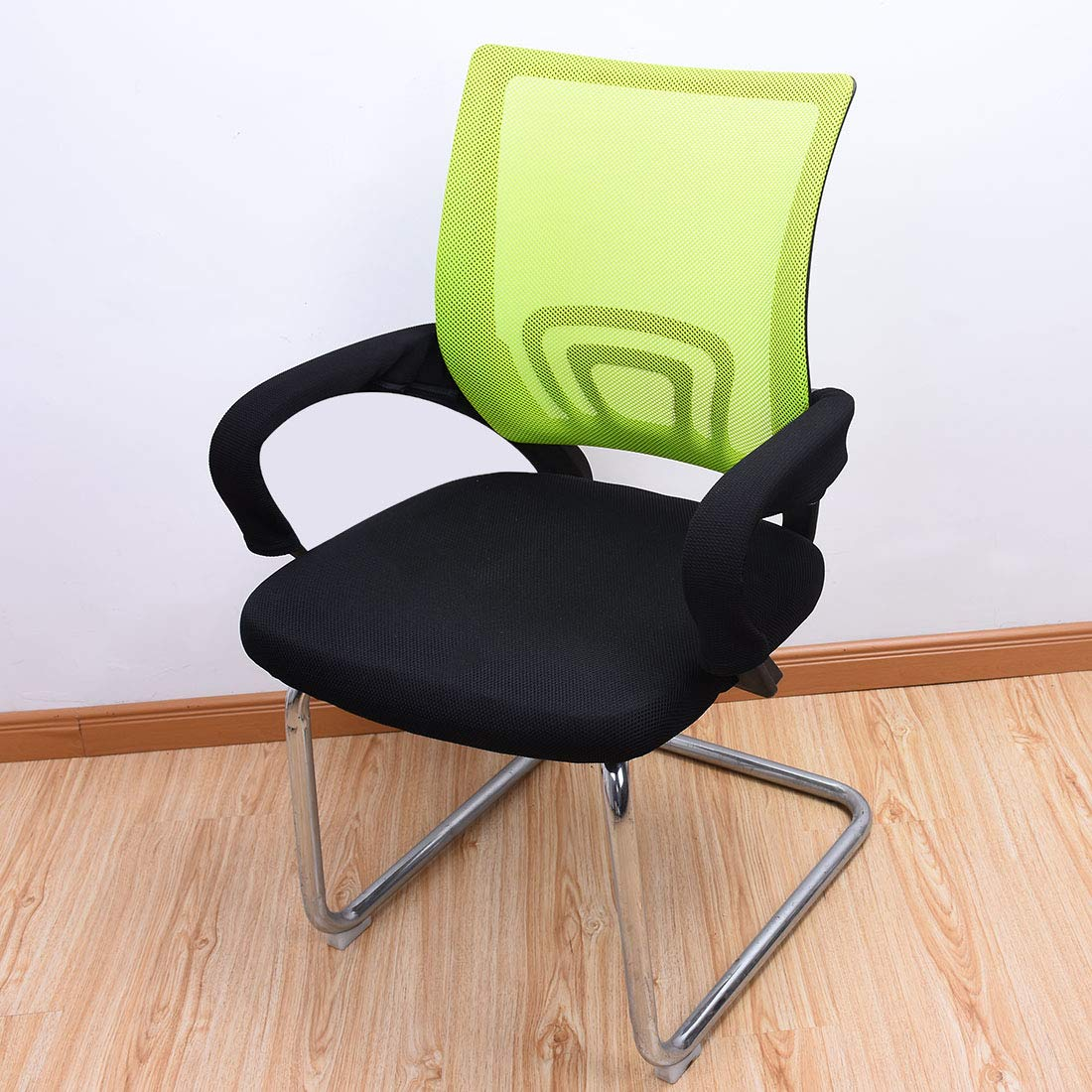 MJL 1 Pair Chair Armrest Covers Office Chair Arm Slipcovers Furniture Arm Cushion Protectors Coffee