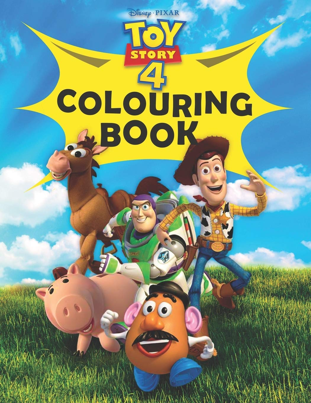 Disney Pixar Toy Story 4 Colouring Book: The Ultimate Toy Story 4 Colouring Book (Mammoth Colouring)