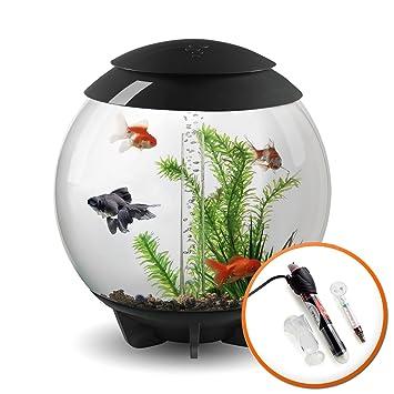 BiOrb Halo - Acuario de 30 litros con iluminación LED MCR y calefactor: Amazon.es: Productos para mascotas