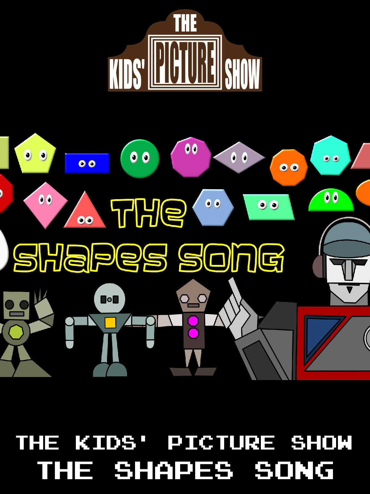 The Kids' Picture Show - The Shapes Song