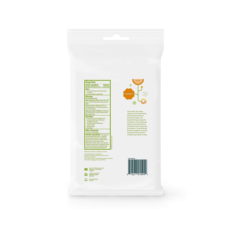 Amazon.com: Toallitas desinfectantes de manos sin alcohol ...