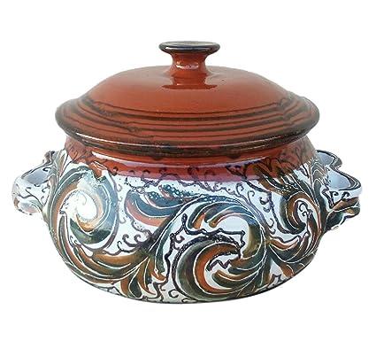 Scaffidi Ceramic Art Design Olla de Barro Decorada - cerámica de ...
