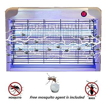 PluieSoleil Tue Mouche Electrique Insect Killer Electric LED Zappers 20W À  l intérieur En plein 4b80cd9b5b79