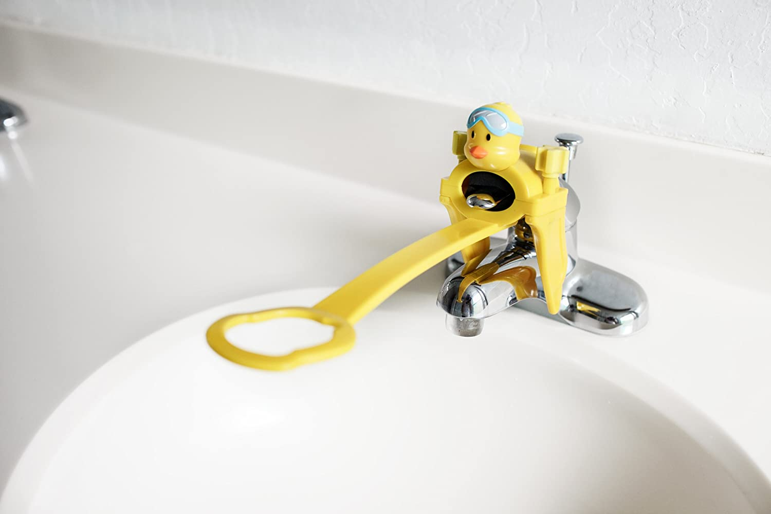 Amazon.com : Aqueduck Faucet Handle Extender. A Safe Fun and Kid ...