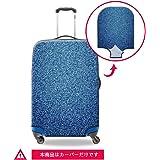 Dispalang スーツケースカバー 3Dプリント 伸縮素材 カウボーイ模様