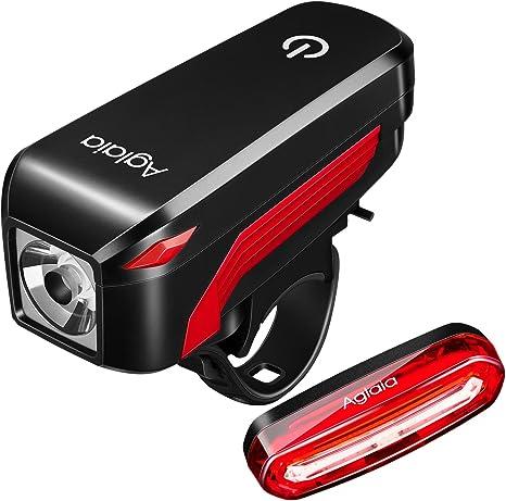 Luz para bicicletas Aglaia, lámpara LED Aglaia para bicicletas ...