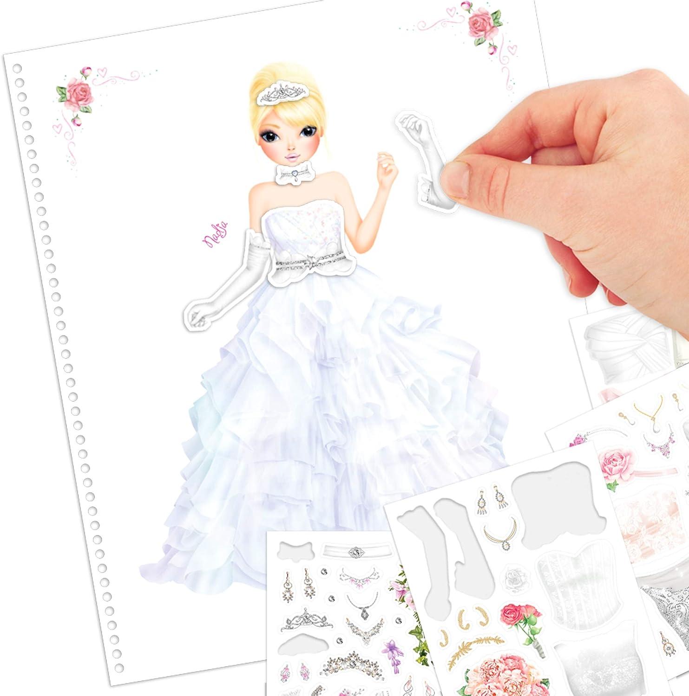 Livre A Colorier Top Model 0010200 Papeterie Cahiers Et Bloc Notes