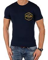 JACK & JONES Herren T-Shirt jjorCALL 2 Tee Print Rundhals Slim Fit