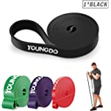 Youngdo Resistance Bands Assisted Pull up Bands for Women and Men Versatile Portable Exercise Bands for Body Stretching Powerlifting Weight Training Crossfit Yoga and Pilates