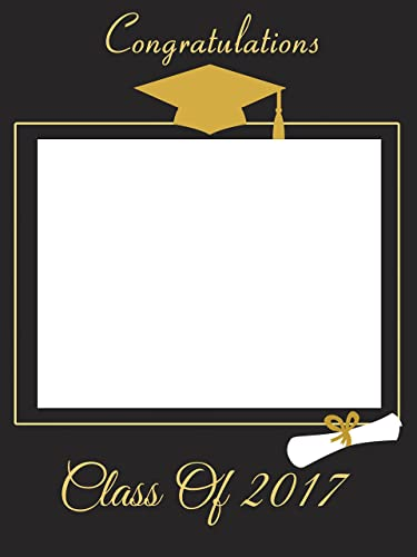 custom home dcor graduation photo booth frame prop size 36x24 48x36 personalized college