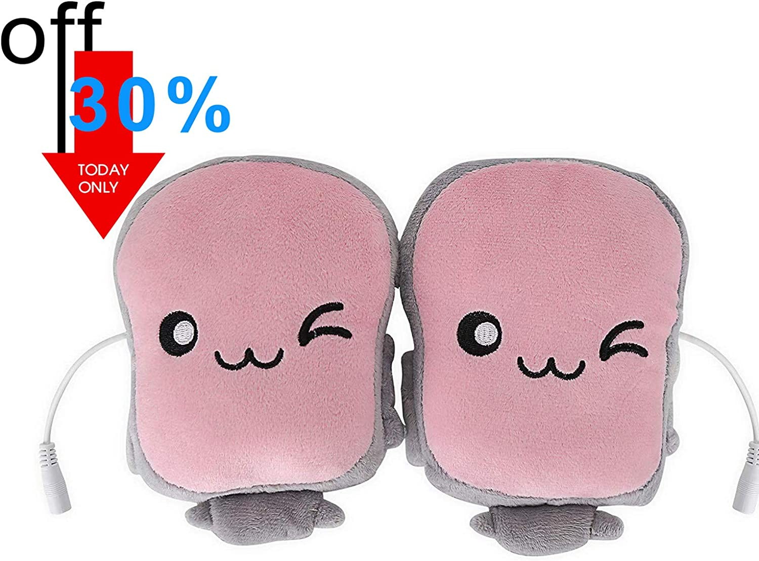 Free Amazon Promo Code 2020 for USB Hand Warmers Cute USB Heating Gloves