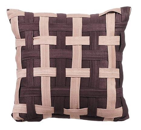 Diseñador marrón cojines para sofas, fundas de almohadones ...