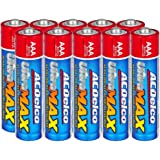 ACDelco UltraMAX 10-Count AAA Batteries, Alkaline Battery with Advanced Technology, 10-Year Shelf Life, Recloseable…