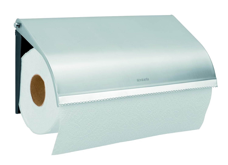 Amazon.com: Brabantia Wall Mounted Kitchen Roll Holder, Matt Steel:  Bakeware: Kitchen U0026 Dining