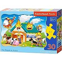 Castorland 30 Parça Söndürme ve Kurtarma Operasyonu Çocuk Puzzle